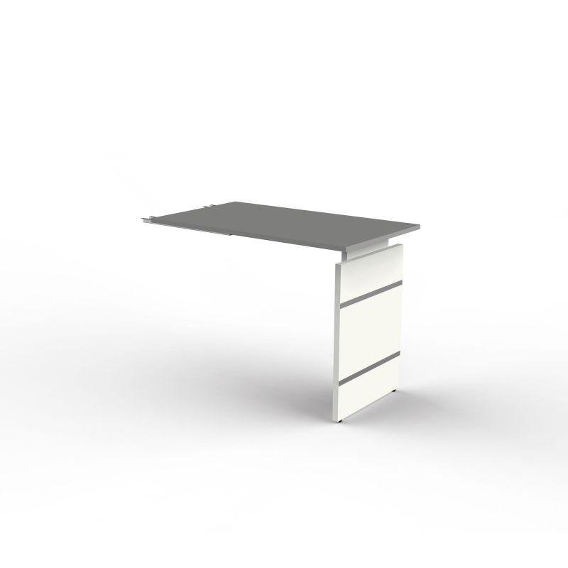 anbautisch zum schreibtisch form 4 100x60x68 76 cm wangen. Black Bedroom Furniture Sets. Home Design Ideas