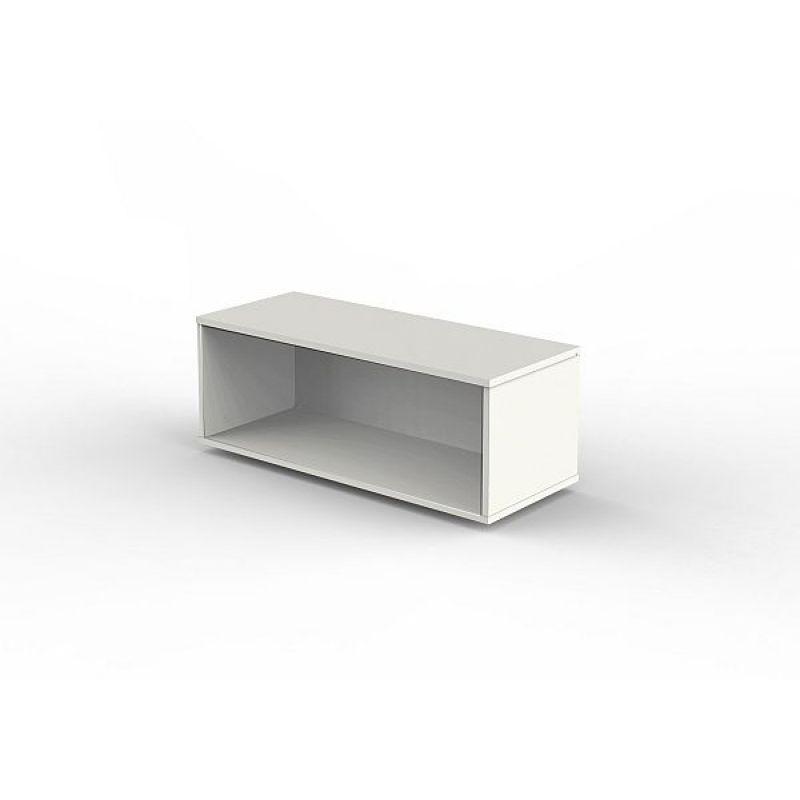 Kerkmann Aufsatzregal 4494 Form 4 weiß 100 x 40 x 36 cm, 92,00