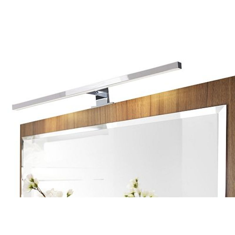 badezimmer g stebad spiegel mit milchglas ablageboden und. Black Bedroom Furniture Sets. Home Design Ideas