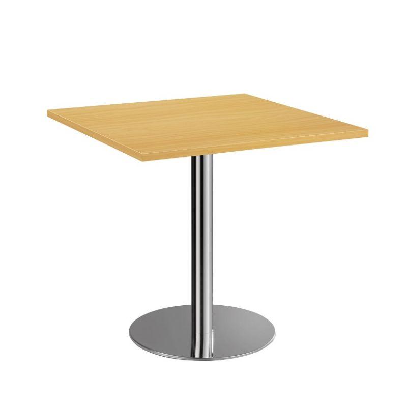 bistro tisch beistelltisch besprechungstisch 88 chrom 80 x 80 cm 239. Black Bedroom Furniture Sets. Home Design Ideas