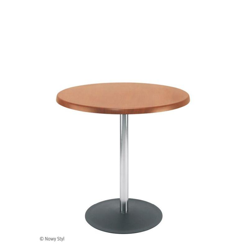 bistrotisch beistelltisch lena verchromt d 60 oder 80 cm h 76 cm 109 00. Black Bedroom Furniture Sets. Home Design Ideas
