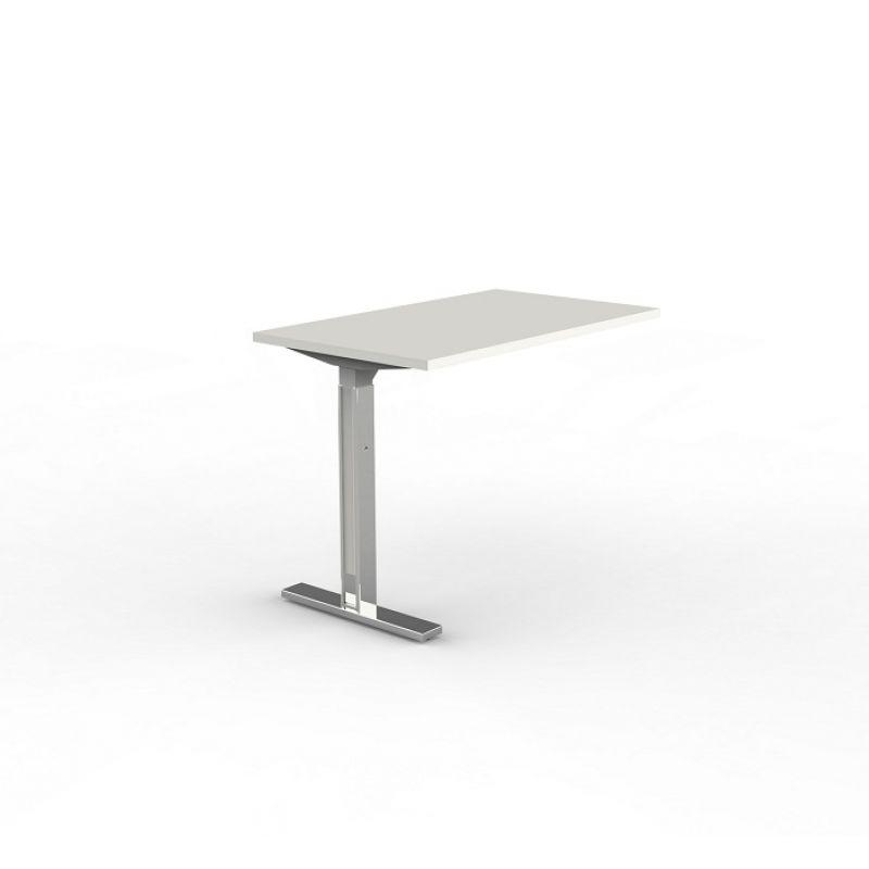 b ro anbautisch f r schreibtisch leonardo 100x60x68 82 cm c. Black Bedroom Furniture Sets. Home Design Ideas