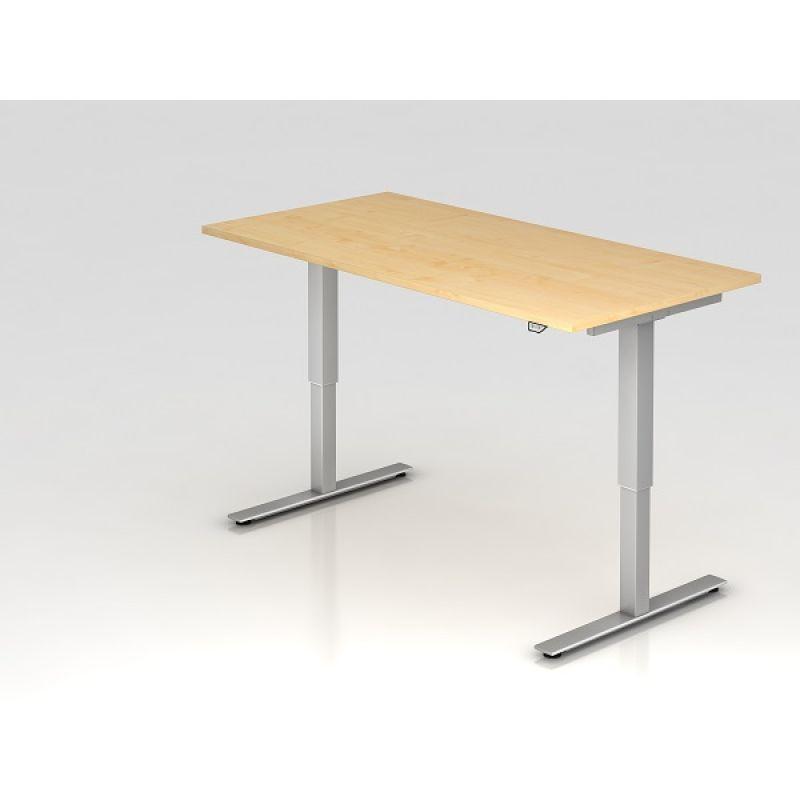 b ro schreibtisch stehtisch h henverstellbar 160x80 cm mode. Black Bedroom Furniture Sets. Home Design Ideas