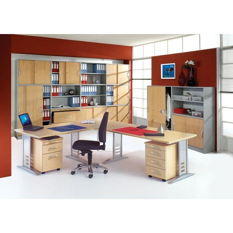 b ro schreibtisch tec art office 120x80 cm h henverstellbar. Black Bedroom Furniture Sets. Home Design Ideas