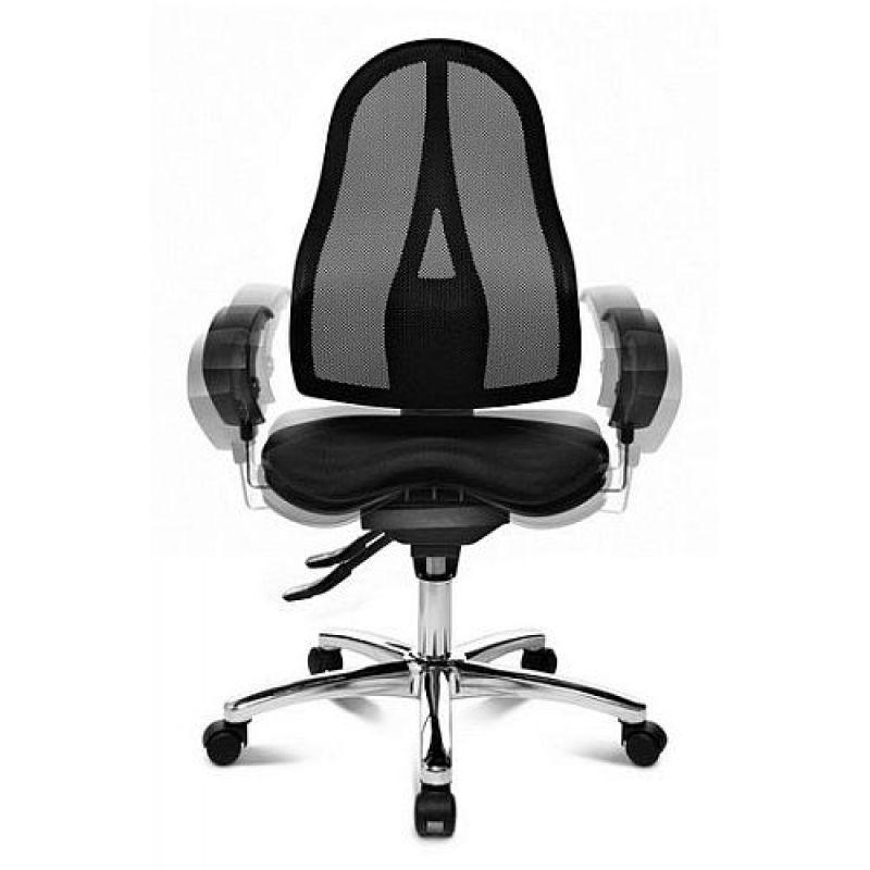 topstar b rodrehstuhl sitness 15 orange inkl armlehnen 199. Black Bedroom Furniture Sets. Home Design Ideas