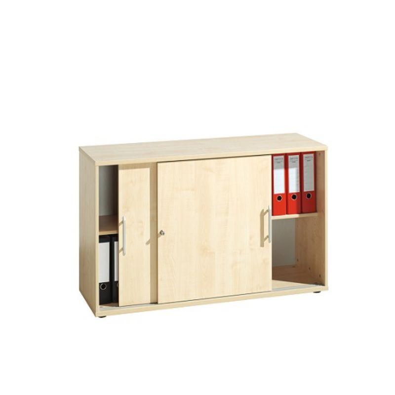 hammerbacher b roschrank sideboard aktenschrank schiebet re. Black Bedroom Furniture Sets. Home Design Ideas