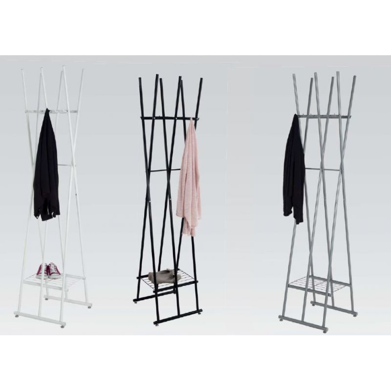 design garderobe kleiderst nder tom metall r0049 186 cm 22 70. Black Bedroom Furniture Sets. Home Design Ideas