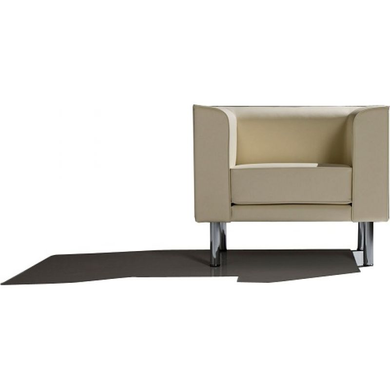 Lounge Sessel Leder Schwarz ~ Design Lounge Sessel Lucille Edelstahl Leder  Optik Schwarz Pictures To
