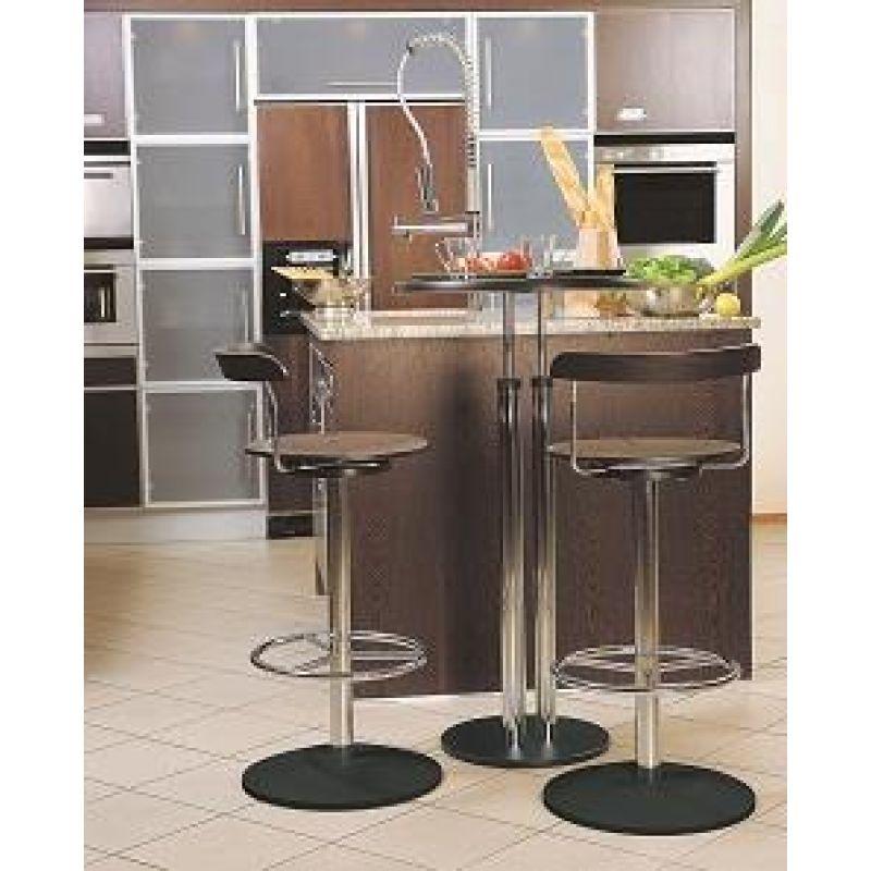 edler bistro stehtisch table plg verchromt h he 110 cm 149 90. Black Bedroom Furniture Sets. Home Design Ideas