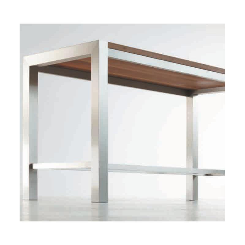 edler hochtisch stehtisch ht20 195 x 85 x 107 cm. Black Bedroom Furniture Sets. Home Design Ideas