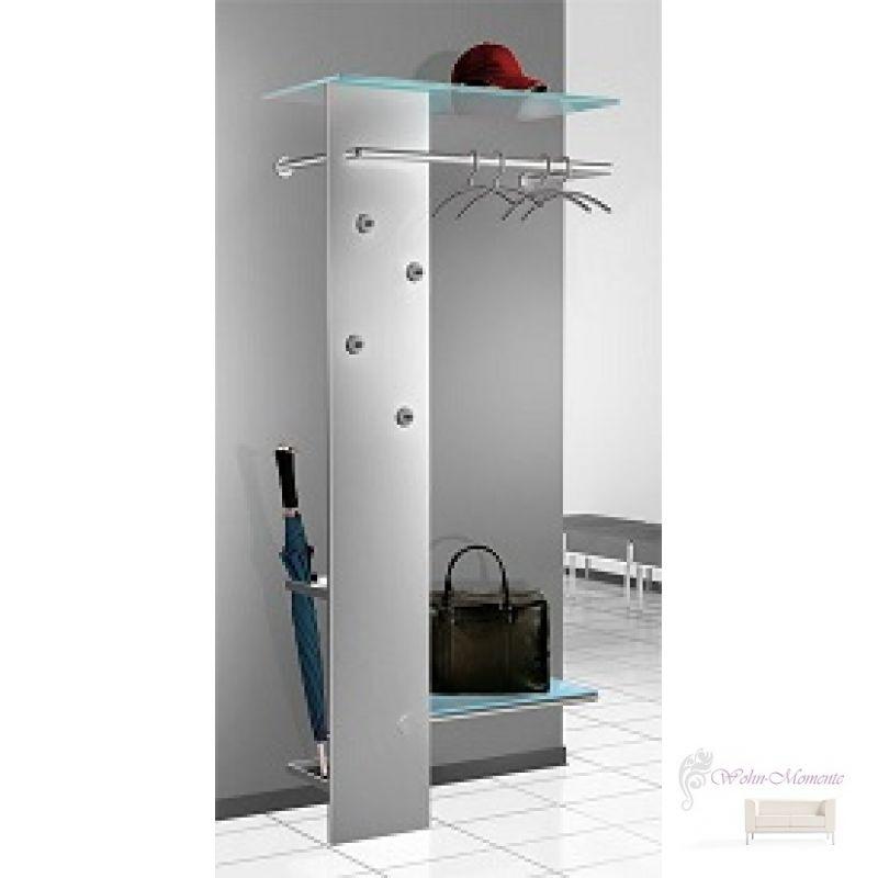 elegante garderobe kent alusilber 339 00. Black Bedroom Furniture Sets. Home Design Ideas