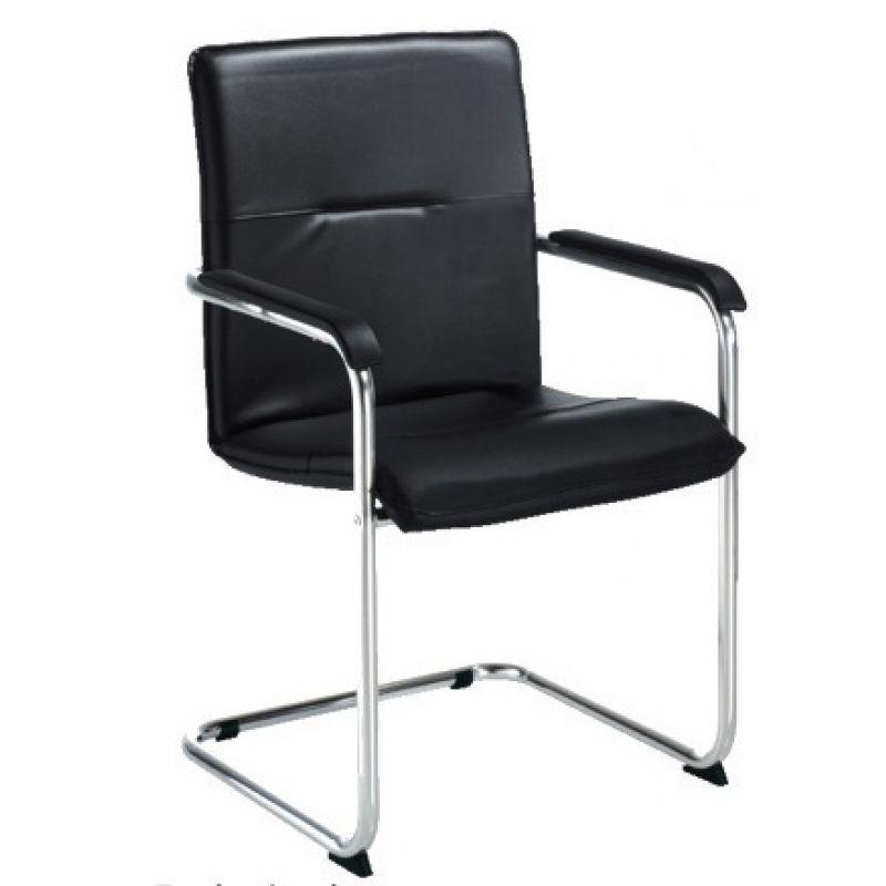freischwinger echtleder manager 117 80. Black Bedroom Furniture Sets. Home Design Ideas
