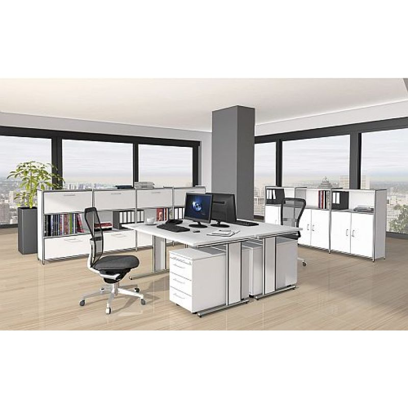 kerkmann highboard 7400 breit artline 3 oh 80x38x115 cm. Black Bedroom Furniture Sets. Home Design Ideas