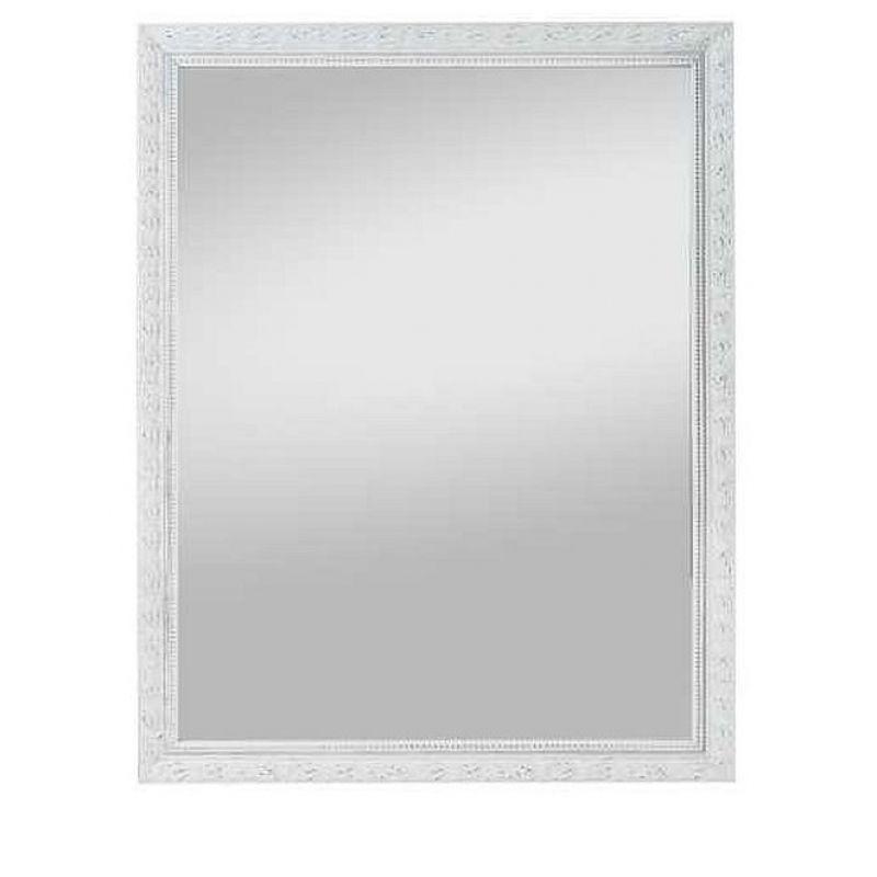 Holzrahmenspiegel Pius 55x70cm,weiß, 44,80 €