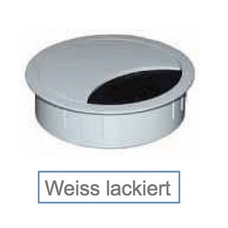 kabeldose rund kabeldurchf hrung zamak 60 mm durchmesser h ou. Black Bedroom Furniture Sets. Home Design Ideas