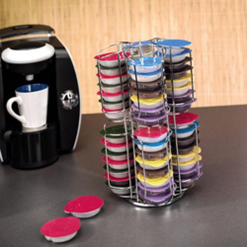 Kaffee kapselst nder kapselspender rondello f r tassimo f u - Support dosettes tassimo ...