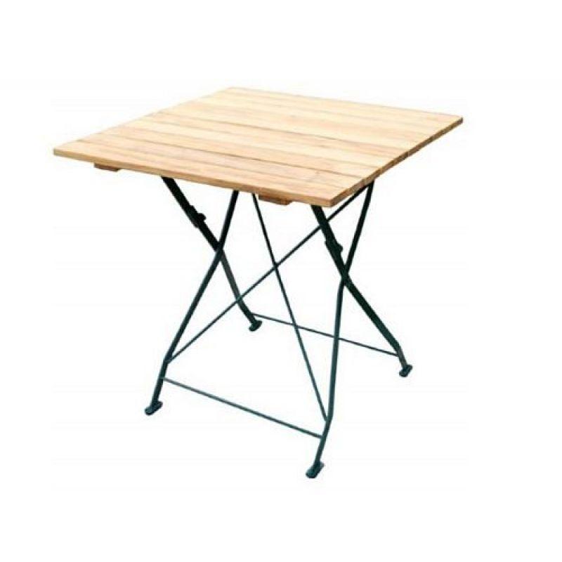 klapptisch holztisch gartentisch tisch gestell dunkel gr n 70x7. Black Bedroom Furniture Sets. Home Design Ideas