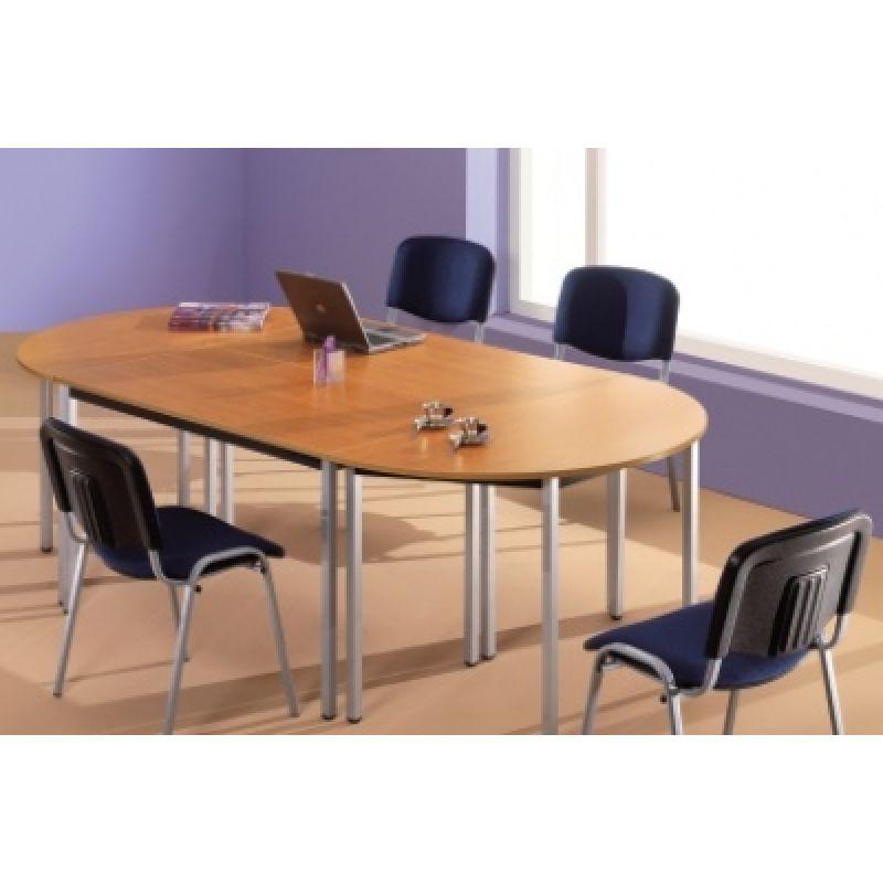 konfenztisch halbrunder mehrzwecktisch 160 x 80 cm 179 00. Black Bedroom Furniture Sets. Home Design Ideas