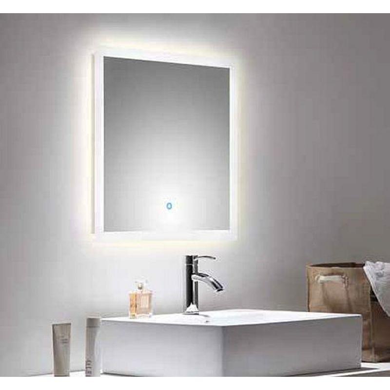 LED Spiegel Badezimmerspiegel 60 X 60 Cm