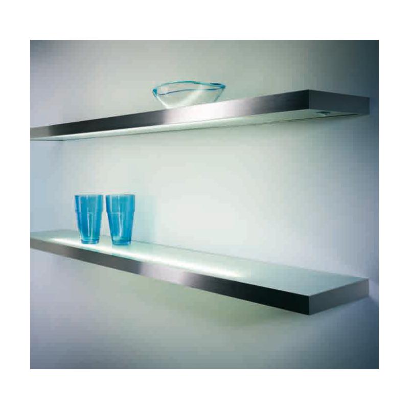 Lichtboden Küche | Leuchte Lista 30 Led Lichtboden Edelstahlfarbig 145 00
