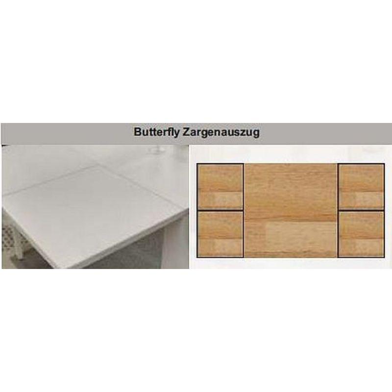 esstisch butterfly auszug cheap esstisch eiche cm x cm mit auszug natur geoelt bild with. Black Bedroom Furniture Sets. Home Design Ideas