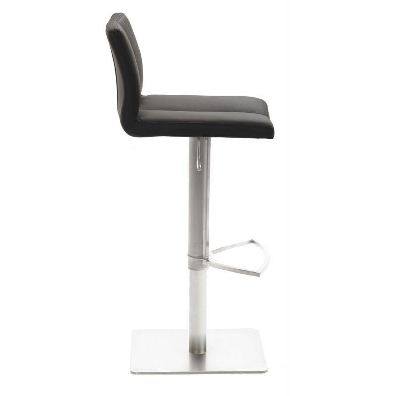 mayer 1230 design lift barhocker myemotion leder optik schwarz 172 1. Black Bedroom Furniture Sets. Home Design Ideas