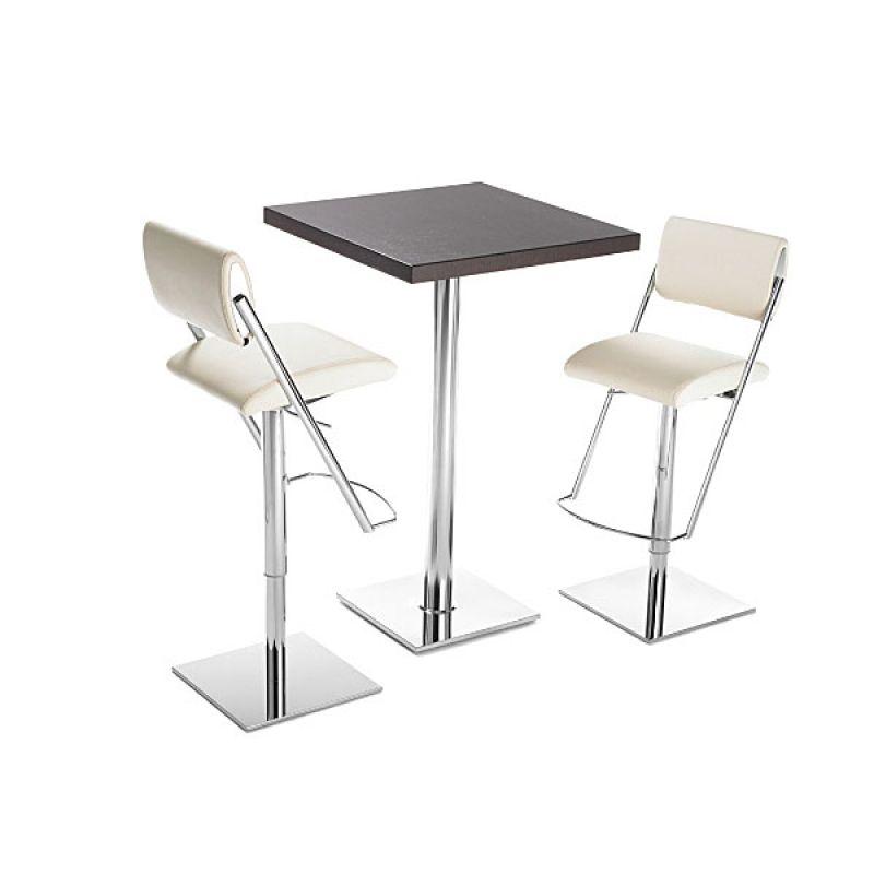 mayer stehtisch 3021 chrom 70x70 cm 258 00. Black Bedroom Furniture Sets. Home Design Ideas