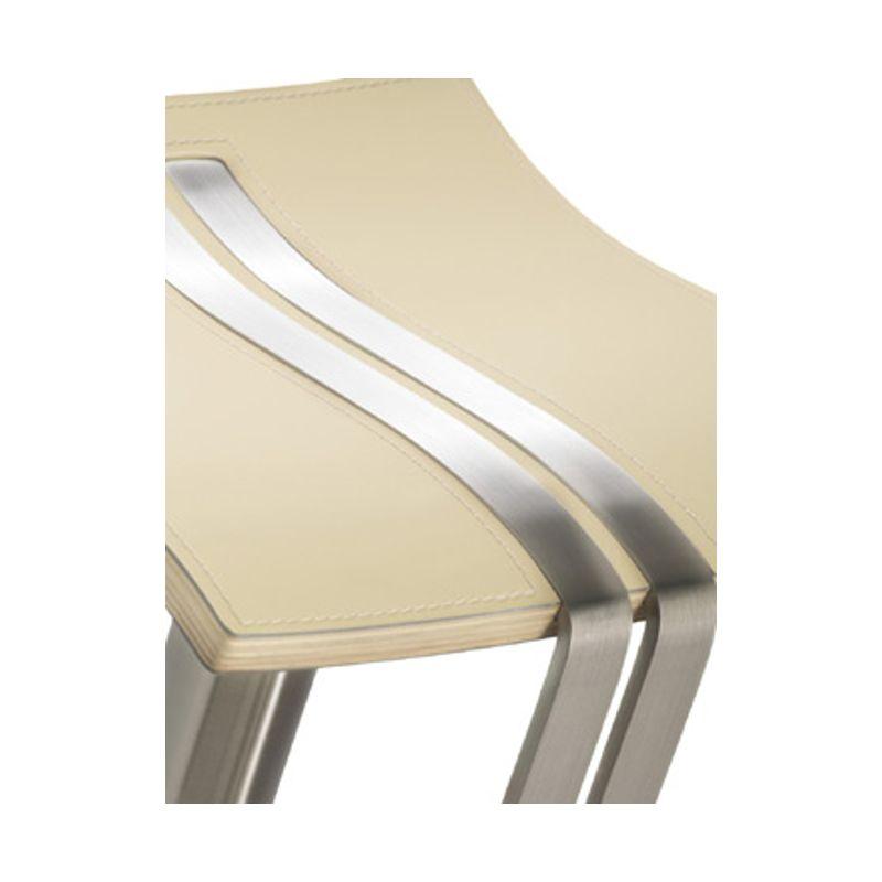 mayer wave barhocker tresenhocker 1208 echt leder creme 305 55 euro. Black Bedroom Furniture Sets. Home Design Ideas