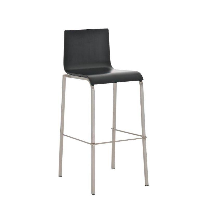 preisvergleich eu barhocker edelstahl schwarz. Black Bedroom Furniture Sets. Home Design Ideas