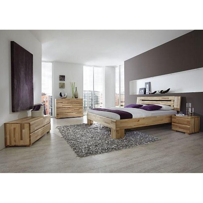 Modernes einzelbett doppelbett avantgarde wildeiche 574 90 for Einzelbett modern