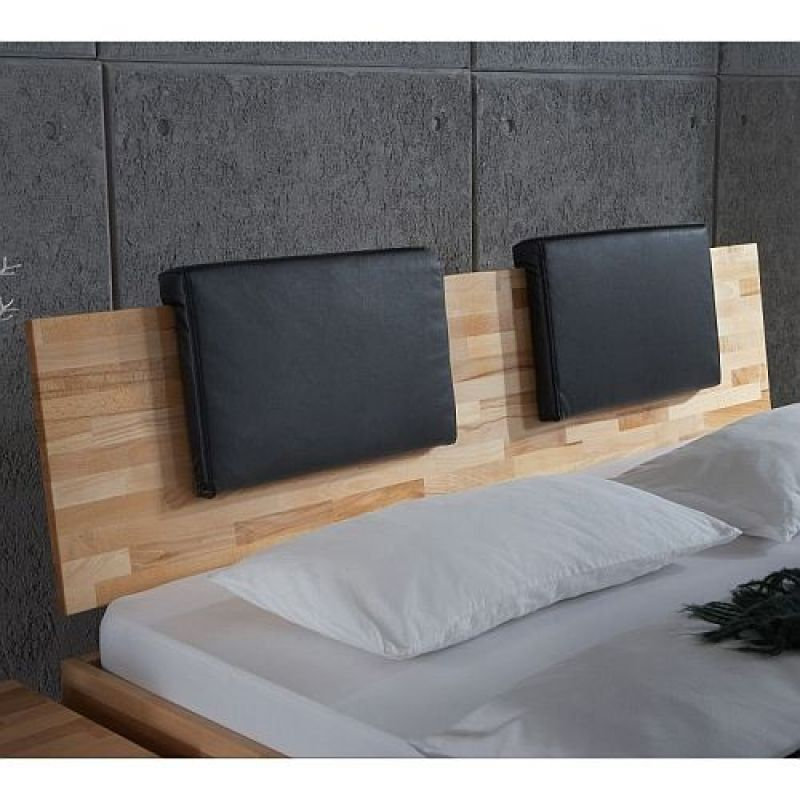 bett kopfteil kissen bett oneop mit kissen kopfteil in braun vida nullvier kuscheloase ohne. Black Bedroom Furniture Sets. Home Design Ideas