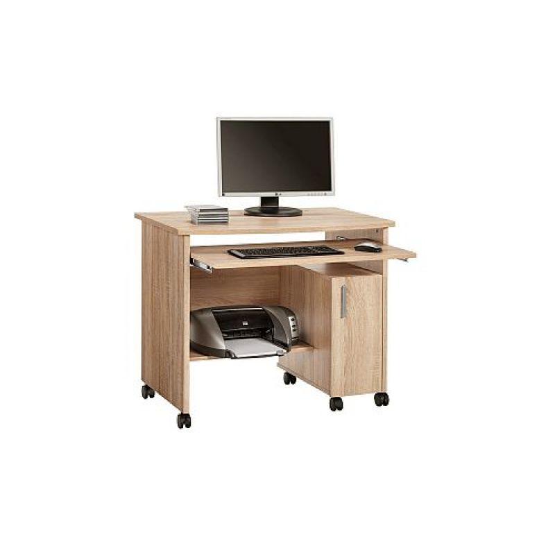Schreibtisch Computertisch 4035, mit Kontur-Oberboden vers. Farben 94