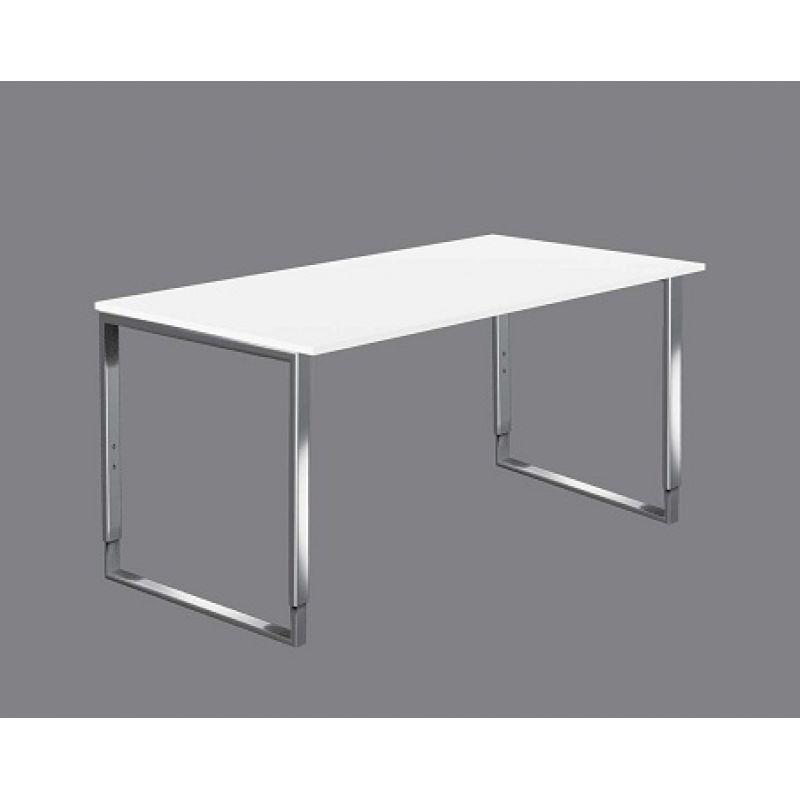 Schreibtisch aveto edelstahl h henverstellbar 160x80 cm for Schreibtisch kufen