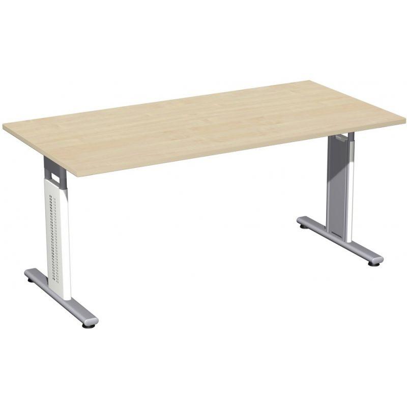 Schreibtisch Bürotisch T Fuß Flex 160 x 80 cm, Gera, 190,1