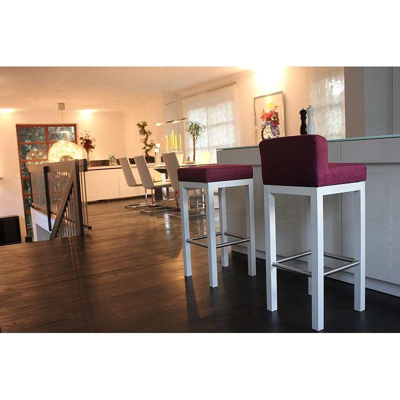 toms trendmoebel design barhocker dani echt holz weiss landhausstil g. Black Bedroom Furniture Sets. Home Design Ideas