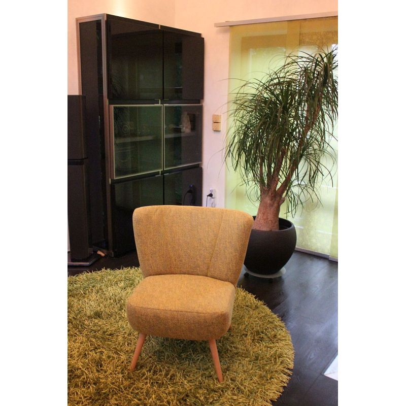 retro sessel gelb innovation sessel und sofa fa r wohnzimmer ga nstig schlafsofa gelb gunstig. Black Bedroom Furniture Sets. Home Design Ideas