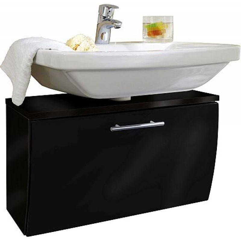Waschtisch Unterschrank, Siphon-Auschnitt u. Klappe Badezimmer Gä