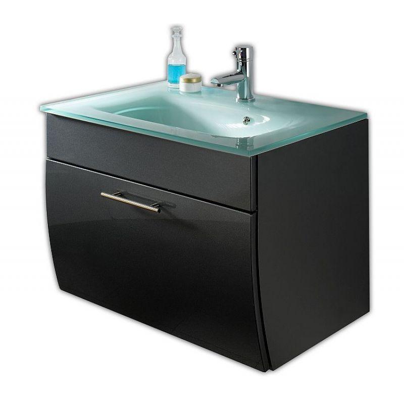waschtisch waschplatz m glasbecken badezimmer g stebad salona. Black Bedroom Furniture Sets. Home Design Ideas