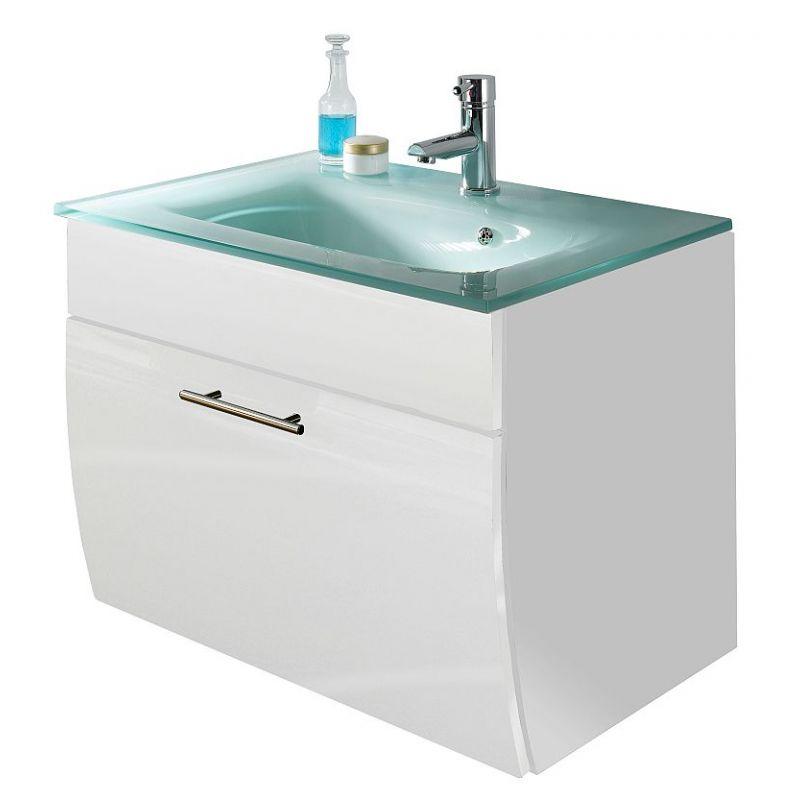 waschtisch waschplatz m glasbecken badezimmer g stebad. Black Bedroom Furniture Sets. Home Design Ideas