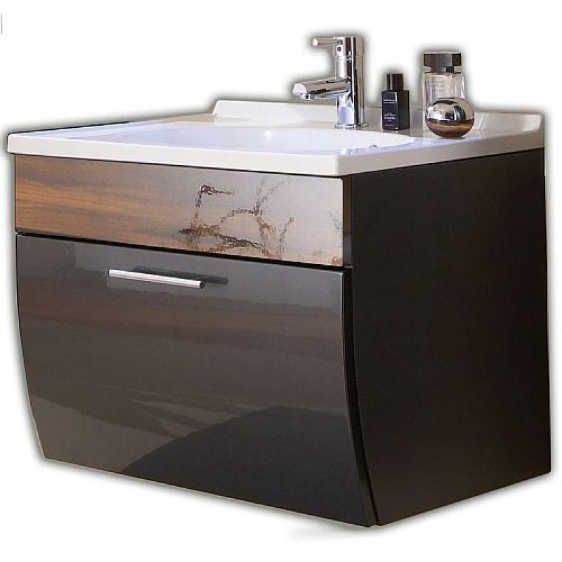 waschtisch waschplatz m mineralgussbecken und klappe badezimmer g au. Black Bedroom Furniture Sets. Home Design Ideas