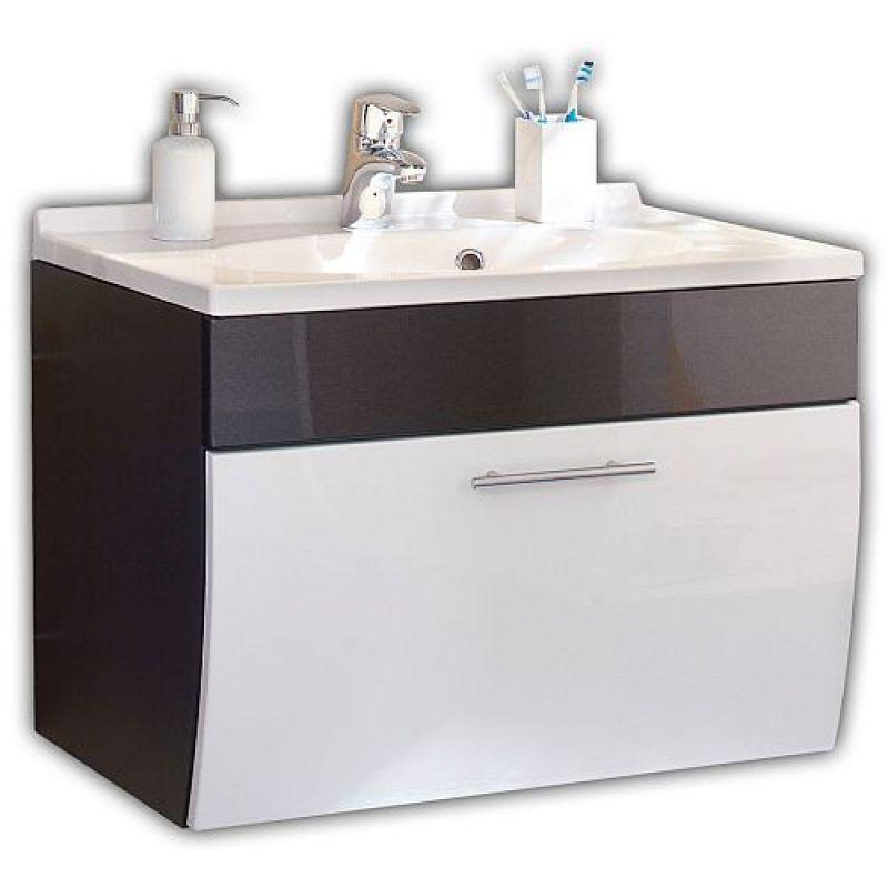 waschtisch waschplatz m mineralgussbecken und klappe. Black Bedroom Furniture Sets. Home Design Ideas