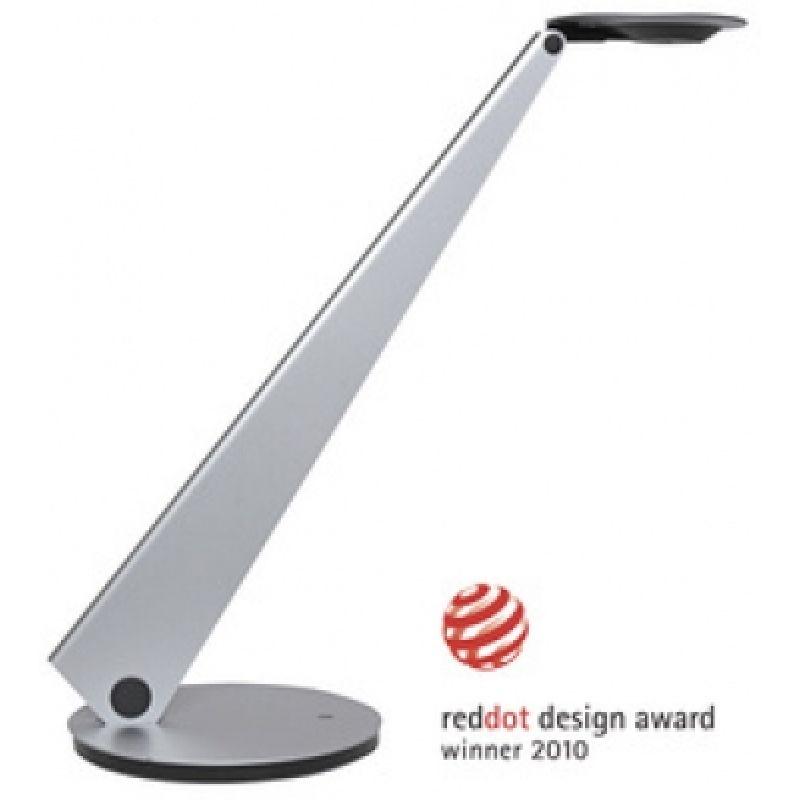 unilux LED Energiespar Tischleuchte INFINITY metallgrau