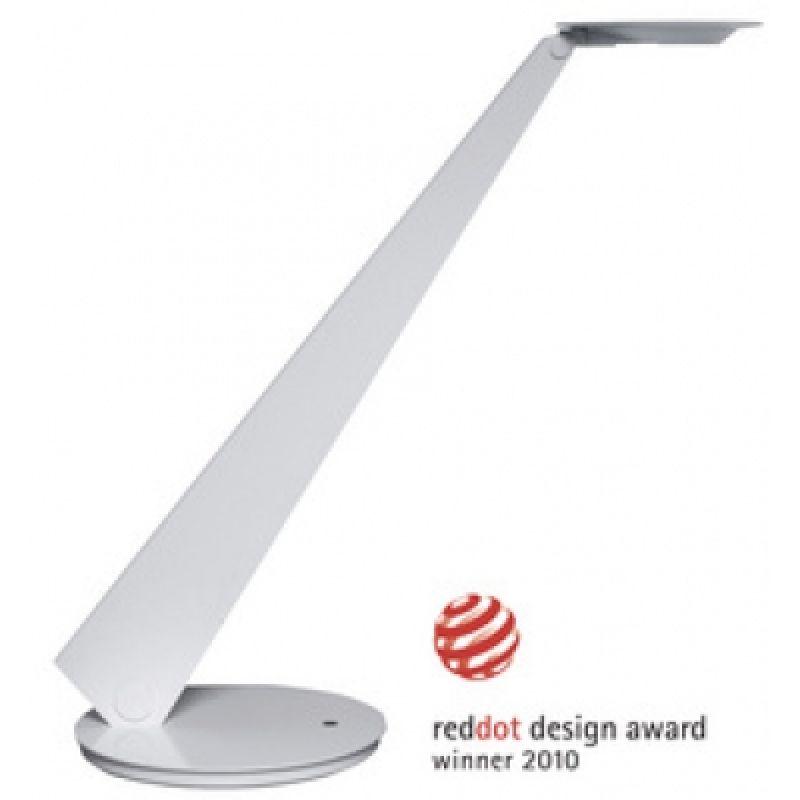 unilux LED Energiespar Tischleuchte INFINITY weiss