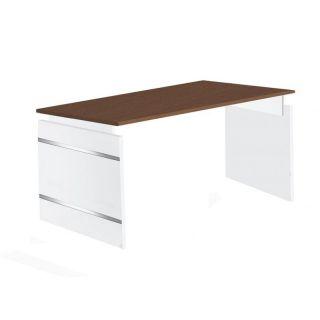 schreibtisch form 4 180x80 cm wangen gestell h henverstellbar al. Black Bedroom Furniture Sets. Home Design Ideas