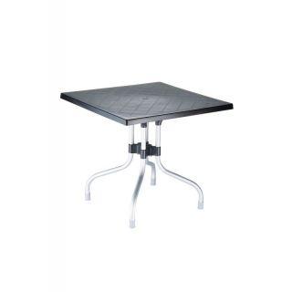 Tisch Gartentisch Forza 80 Cm Schwarz 139 00