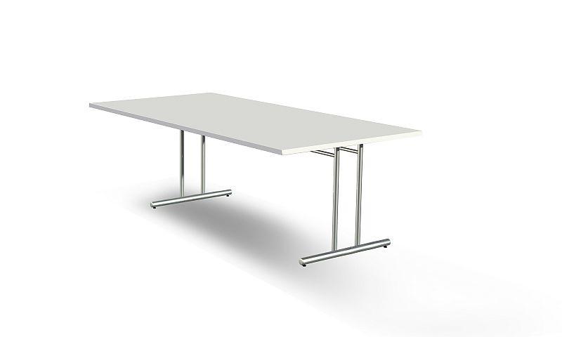 Schreibtisch Artline Extragross 200x100 Cm C Fuss Chrom 290 00