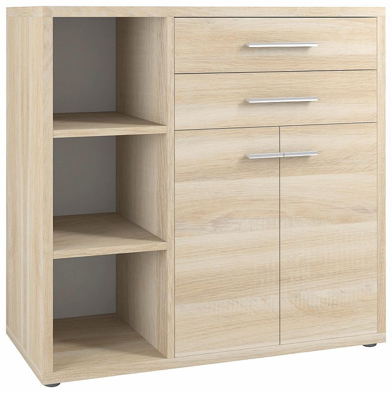 Maja Kommode Sideboard Set 16825524 Eiche Natur 117 X 110 X 40 Cm