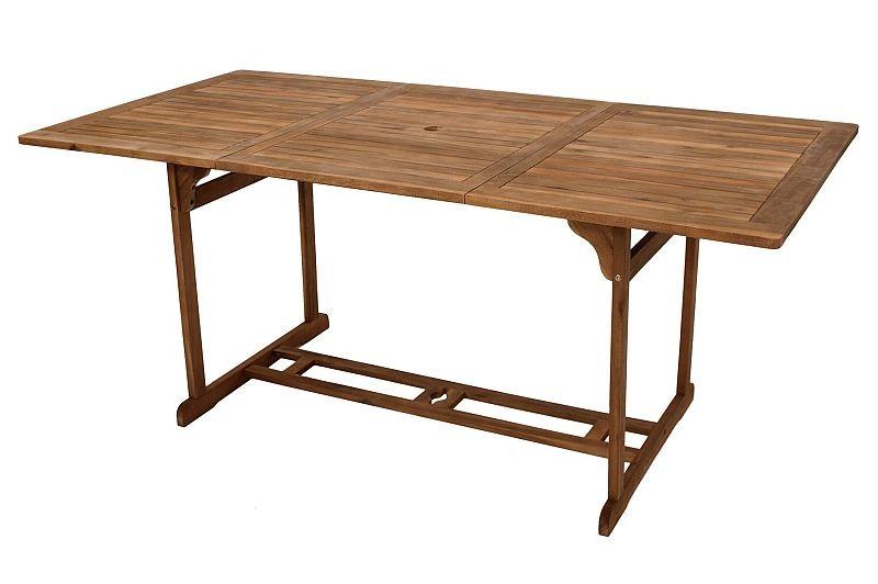 Gartentisch Holztisch 180 X 90 Cm Aus Akazienholz 109 00
