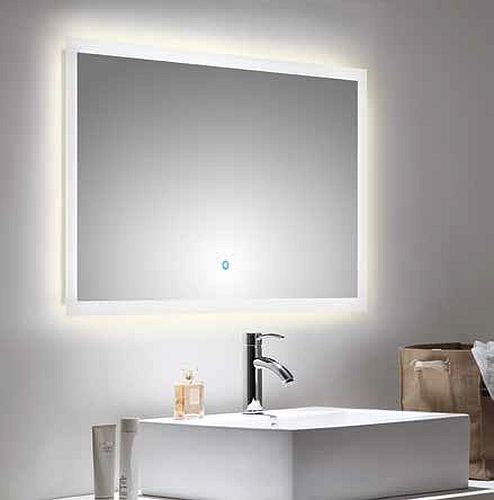 Led spiegel badezimmerspiegel 100 x 60 cm 167 00 for Led spiegel