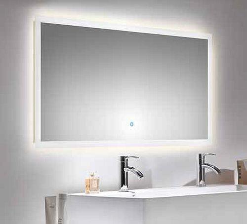 LED Spiegel Badezimmerspiegel 140 x 60 cm